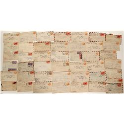 APO Air Mail envelopes   (91077)