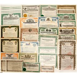Misc Nevada stock certificates and bonds  (91059)