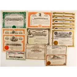 Nevada Mining Stock Collection (16)  (89378)