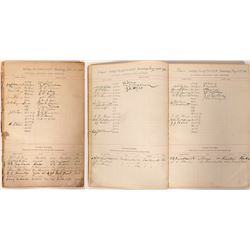 IOOF Officer, Member and Visitor Register Book  (90995)