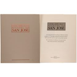 Book By Clyde Arbuckle, History of San Jose  (84410)
