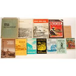Bodie & Nevada Books / 12 items    (100240)