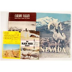 Nevada History Books (4)  (84977)