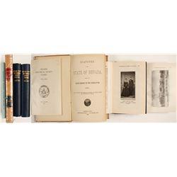 Nevada History Books (4)  (61838)