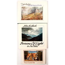 3 Signed John Kollock Books  (56115)