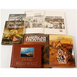American West Books (6)  (55778)