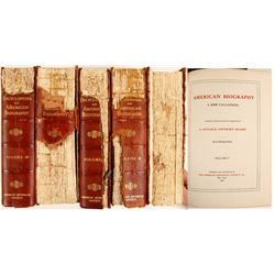 Encyclopedia of American Biography (5 Volumes)  (64246)