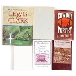 North America History Books (5)  (63958)