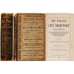 Directory / St.Paul , Minneapolis  (89574)
