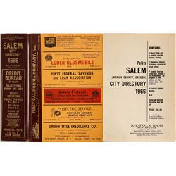 Directory / Salem, Oregon .  (89576)
