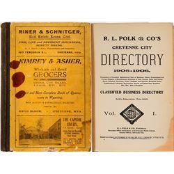Directory / Cheyenne , Wyoming.  (89570)