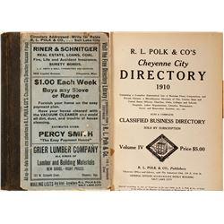 Directory / Cheyenne , Wyoming.  (89575)