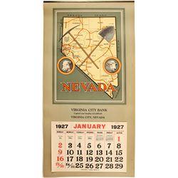 Virginia City Bank Calendar  (100016)