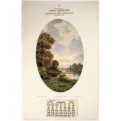 JF Reisacher Saddlery Calendar  (89111)