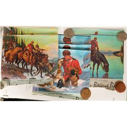 Canadian Mountie Wall Calendars (7)  (89550)