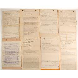Arizona Ephemera including Legal Docs  (89810)