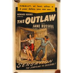 "Movie Poster / "" The Outlaw ""  (100257)"