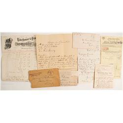 Jamestown, CA Correspondences and Drug Docs  (89143)