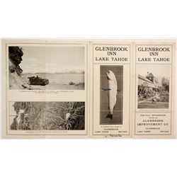 Glenbrook Inn, Lake Tahoe, Brochure  (78662)