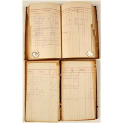 Ophir, CA Business ledgers from W.R. Monahan  (78351)