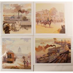 Old Sacramento Prints (4)  (90983)