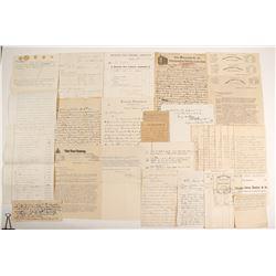 Swan, George Correspondence, 1867-1906  (90967)