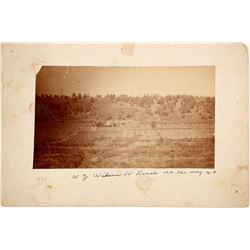 Wilson Ranch, CA Hgwy 40 Mounted Photo  (90594)
