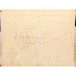 Montana Map, 1872  (84675)