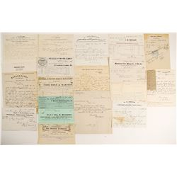 Lander County Ephemera Collection  (99493)