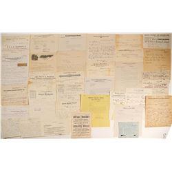 Lyon County Ephemera Collection  (99522)