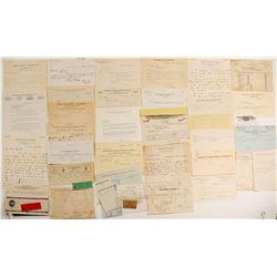Nye County Ephemera Collection  (99416)