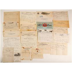 Pershing County Ephemera Collection  (99527)