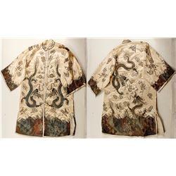 Antique Metallic Embroidered Kimono  (76642)