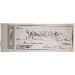 Earliest Governor Nye Known Check  (89960)