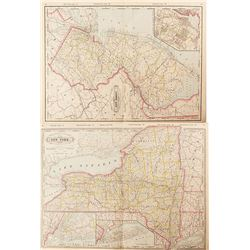 Maps of New York & New Jersey  (54225)