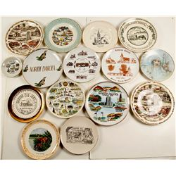 Souvenir Plates (15) From North Dakota  (76904)