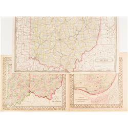 Maps of Ohio & Indiana  (54229)