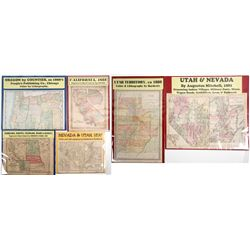 Western Map Collection (6)  (63109)