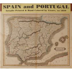 Map of Spain & Portugal  (59640)