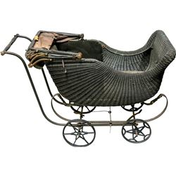 """The Wakefield"" Baby Carriage in Original Wood Crate  (90980)"