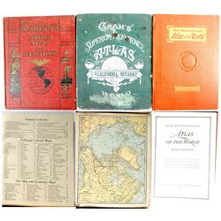 3 Old World Atlases  (54168)