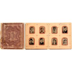 Mini Tin Type Wedding Album  (90635)