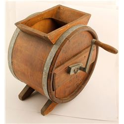 Wood Butter Churn  (61176)