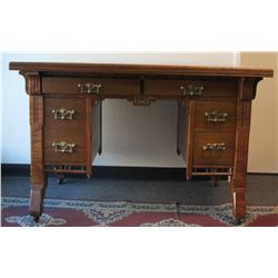 Ornate Eastlake Desk  (57754)