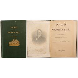 Voyages of Nicholas Ball from 1838-1853  (89325)