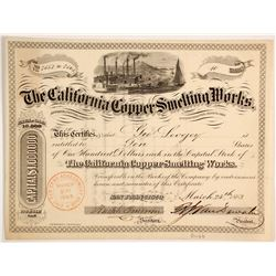 California Copper Smelting Works - Extra Rare  (90435)