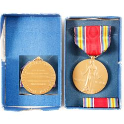 Campaign and Service Victory Medal WW2  (75705)