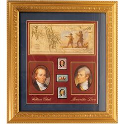 Lewis And Clark Bicentennial & Stamps.  (89564)