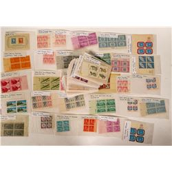 US Plate Block Collection  (100026)