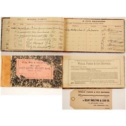 Wells Fargo Shipping Log from Nevada City, 1898-9  (90964)